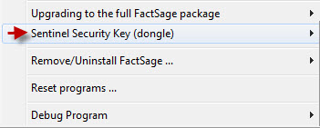 Status of FactSage Dongles